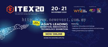 ITEX 2020 - 31st International Invention, Innovation & Technology Exhibition, Malaysia