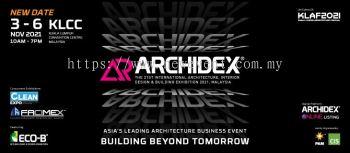 ARCHIDEX 2021 ��C The 21st International Architecture, Interior Design & Building Exhibition 2021, Ma