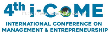 The 4rd International Conference On Management And Entrepreneurship I-CoME 2021