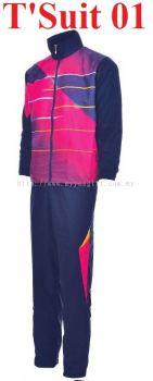 T'Suit 01 - Navy & Magenta