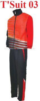 T'Suit 03 - Red & Black