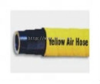 Yellow Air Hose - Extrusion Type