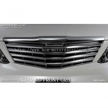 Toyota Alphard 2008-2014 all chrome grill