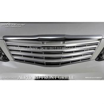 Toyota Alphard 2008-2014 chrome white grill