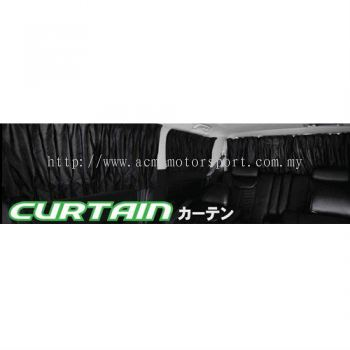 Toyota alphard curtain