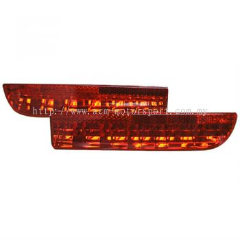Toyota estima rear reflector light smoke red
