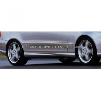 Mercedes Benz W209 CLK63 Look side skirt PP