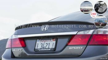 Honda Accord boot lips spoiler