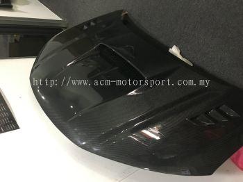 Honda city CM style carbon front hood