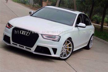 Audi A4 B8.5 RS front bumper