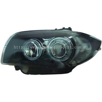 BMW E82 1 series head lamp