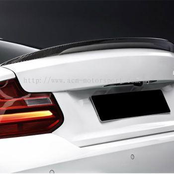 BMW E82 1 series Peformance spoiler