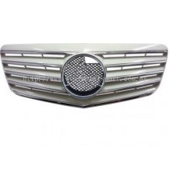 W211 07 CL Sport Grille ( Silver, Black , White )