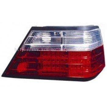 W124 Rear Lamp Crystal LED Clear/Red