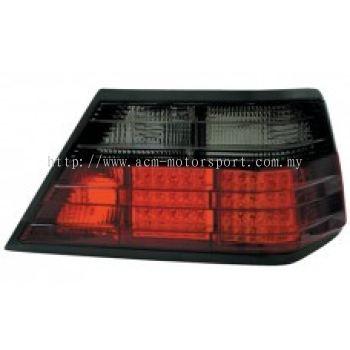W124 Rear Lamp Crystal LED Smoke/Red