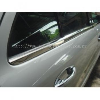 W164 Door Moulding Chrome S/Steel ( 4 pcs/set  )