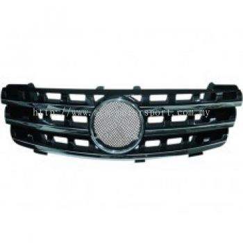 W164 06 Sport Front Grille Facelift Style ( Black , Silver )