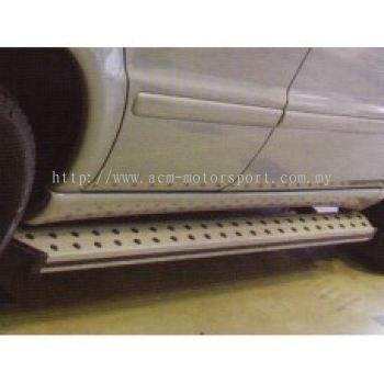 W163 Running Board Aluminum