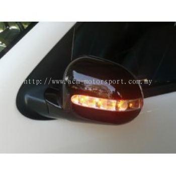 W163 98 Door Mirror Cover W/Light