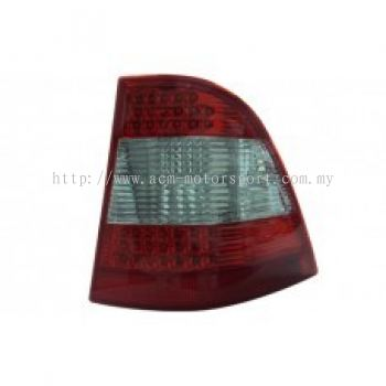 W163 Rear Lamp Crystal LED Red/Clear