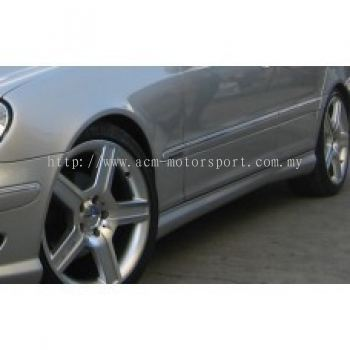 W203 AM C32 Look Side Skirt