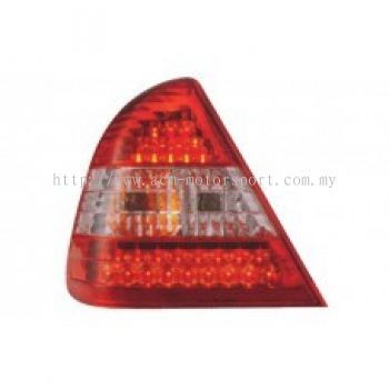 W202 Rear Lamp Crystal LED  Red/Clear