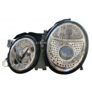 W208 Head Lamp Crystal Projector W/Vacuum  ( H7 )