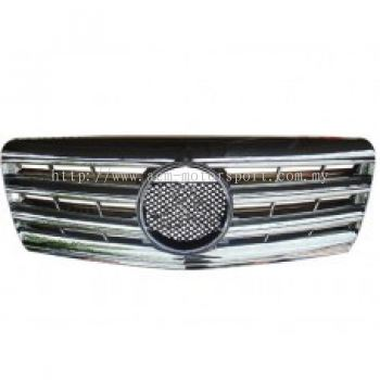 W140 CL Sport Grille ( Silver , Black , White )