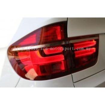 E70 Rear Lamp Crystal LED + Light Bar..