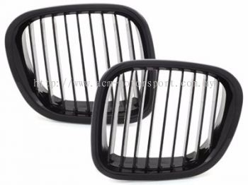 Z3 E40 Front Grille All Black