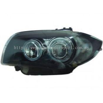 E87 Head Lamp Projector W/Rim