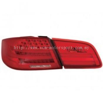 E92 07 Rear Lamp Crystal LED + Light Bar