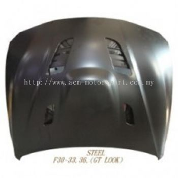 F36 M4 GT Look Engine Hood Steel