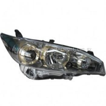 Wish Head Lamp Crystal Projector Golden Eye