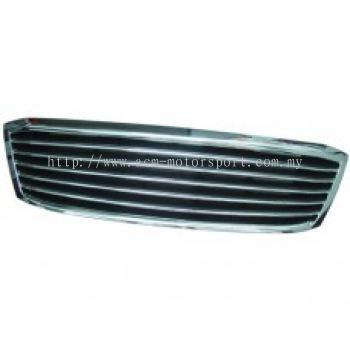 Hilux 04 Front Grille Chrome /Black