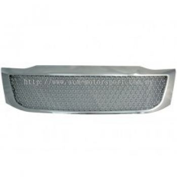 Hilux 11 Front Grille Chrome Bentley Style