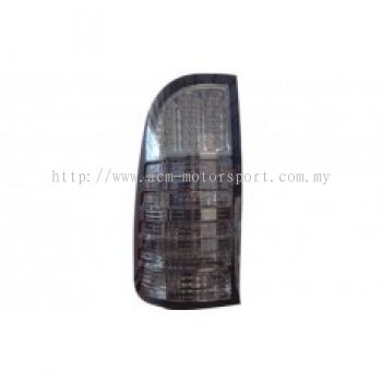 Hilux 04 Rear Lamp Crystal LED Smoke