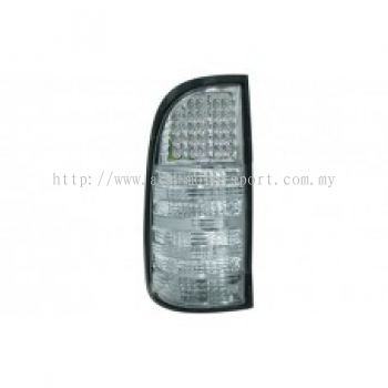 Hilux 04 Rear Lamp Crystal LED Clear