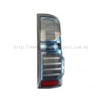 Hilux 04 Rear Lamp Crystal LED Hybrid Look