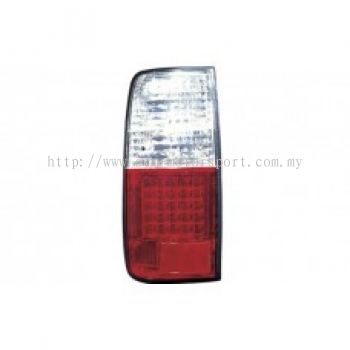 FJ80 Rear Lamp Crystal LED Clear/Red