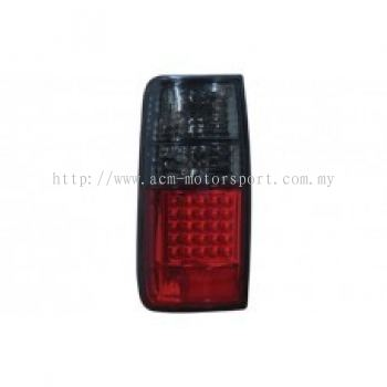 FJ80 Rear Lamp Crystal LED Smoke/Red