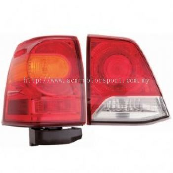 FJ200-13 Rear Lamp Crystal LED Red/Clear