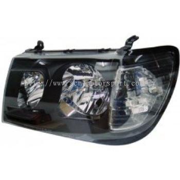 FJ100 -98 Head Lamp Crystal Black (05 Style)