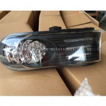 FJ Cruiser Corner Lamp Crystal Black W/LED
