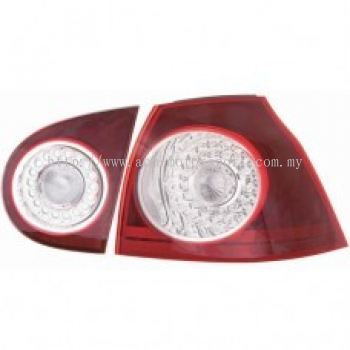 MK5 Rear Lamp Crystal LED Red/Clear