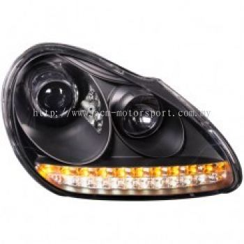 Cayenne '03 Head Lamp Projector W/LED For Xenon Use