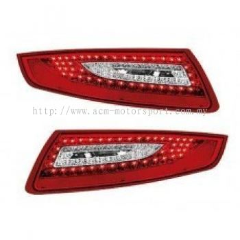 Carrera 04 Rear Lamp Crystal LED Red/Clear