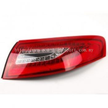 Carrera 98 Rear Lamp Crystal LED Red/Clear W/out Turbo Use