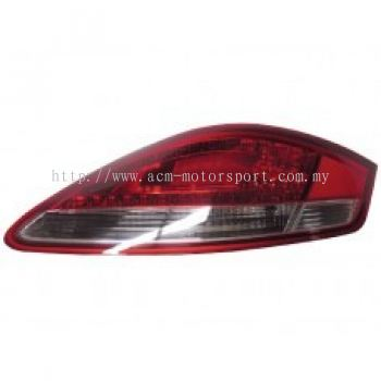 Boxster 06 Rear Lamp Crystal LED Red/Clear