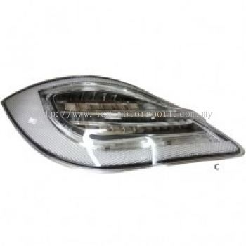 Boxster 09 Rear Lamp Crystal LED Clear